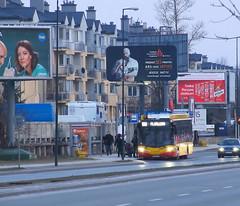 Ursus/AMZ City Smile CS12E, #1993, MZA Warszawa (transport131) Tags: bus autobus mza warszawa ztm warsaw wtp ursus amz city smile cs12