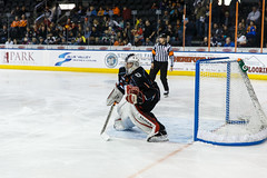 "Kansas City Mavericks vs. Indy Fuel, February 16, 2018, Silverstein Eye Centers Arena, Independence, Missouri.  Photo: © John Howe / Howe Creative Photography, all rights reserved 2018. • <a style=""font-size:0.8em;"" href=""http://www.flickr.com/photos/134016632@N02/40387397991/"" target=""_blank"">View on Flickr</a>"
