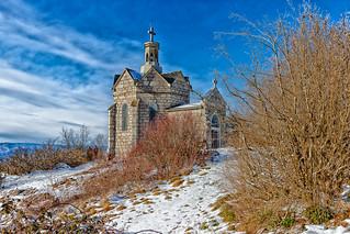 Curienne -Savoie - Chapelle Mont Saint Michel (895m)