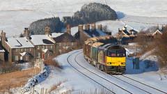 Hazy Shade Of Winter (Richie B.) Tags: 6j37 colas rail garsdale cumbria settle and carlisle railway brush traction procor mirrlees class 60 60087
