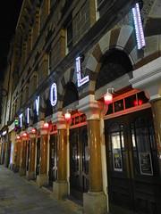 Tivoli theatre at night (Ian Robin Jackson) Tags: aberdeen scotland theatre front urban photograph light door night sony zeiss