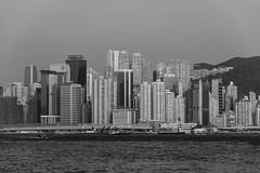 urban jungle (Greg Rohan) Tags: cityscape mountain sea ocean water urbanjungle urban hongkong china skyscrapers skyline buildings building highrise monochrome blackwhite blackandwhite bw d7200 2017 nikkor nikon city sky skyscraper