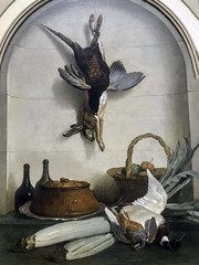 'The Pate' by Jean-Baptiste Oudry (Greatest Paka Photography) Tags: hunting duck rabbit art artist jeanbaptisteoudry museum pate pheasant feather legionofhonor gamebirds cardoon painting