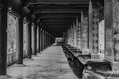Temple Bai Dinh - Vietnam (Alexis Rangaux) Tags: vietnam baidinh travel architecture blackandwhite noiretblanc temple