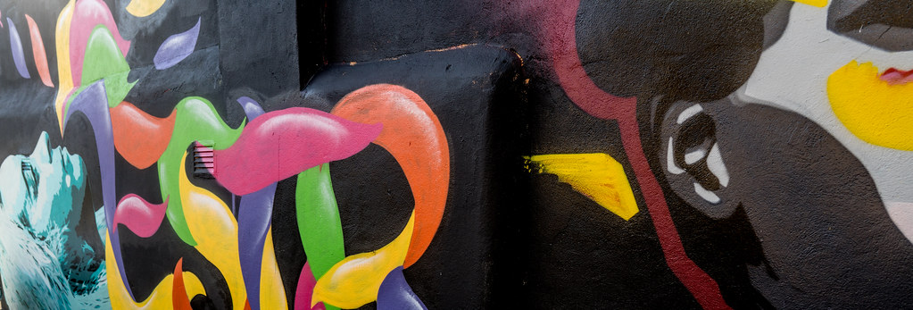 STREET ART AT THE TIVOLI CAR PARK IN DUBLIN [LAST CHANCE BEFORE THE SITE IS REDEVELOPED]-135606