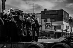 Vatican Rush (negrominay) Tags: lima perú city travel bw bn blackandwhite blancoynegro mono monochrome monochromatic monocromo monocromático canon canoneos7d canonef50mmf18stm 50mm truck street heat sun