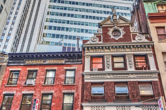 old New York (albyn.davis) Tags: nyc newyorkcity manhattan downtown buildings oldandnew color colors facades history historic city urban architecture hdr