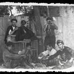 Archiv O914 Händler in der Kleinstadt, WWII, Bulgarien, 1940er thumbnail