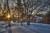 BackyardSunrise (jmishefske) Tags: muskego nikon winter wisconsin february neighborhood 2018 d800e snow