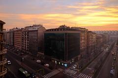 Sunrise in Milan (A. Wee) Tags: milano lombardia italy it milan 米兰 意大利 sunrise 日出
