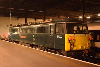 GBRF 87002 @ London Euston station