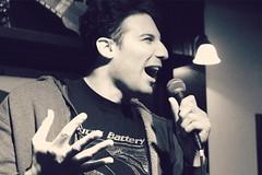 Jared Rayter (chearn73) Tags: jaredrayter winnipeg comedian comedy onstage live manitoba canada portrait