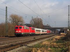 DB 115 261 (jvr440) Tags: trein train spoorwegen railroad railways ostbevern rollbahn db deutsche bahn br 110 kasten