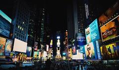 Lights (Chris Acheson Photography) Tags: billboard people america usa timessquare light lights night newyork