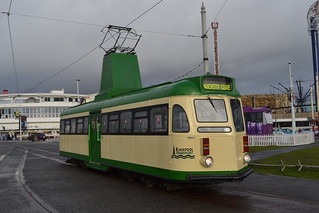 Blackpool Transport Brush Car 630