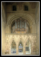 Screen and Organ Pipes (veggiesosage) Tags: southwell southwellminster nottinghamshire aficionados gx20 grade1listed cathedral minster