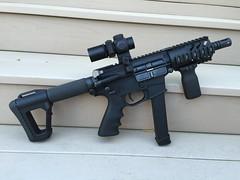 9mm Glock AR (pw-ar15) Tags: 9mm glock ar sbr