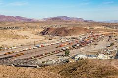 BNSF 7983 West: Unknown Intermodal at Barstow, California (Z-Trains) Tags: trains train railfan railfanning barstow barstowrailfan cajon needles bnsf up unionpacific