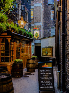 Ye Olde Mitre Pub (High Holborn - London) (High ISO)  Fujifilm X100F & 28mm Wide Lens Converter (1 of 1)