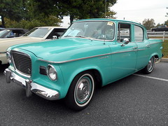 1959 Studebaker Lark (splattergraphics) Tags: 1959 studebaker lark carshow aacaeasterndivisionfallmeet antiqueautomobileclubofamerica aaca hersheypa