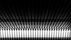 Metro (Alejandrillo93) Tags: canon 550d 50mm f18 18 blackandwhite blancoynegro barcelona stm street metro