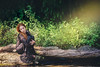 Ophelia Millais (elparison) Tags: redhead redhair ophelia red landscape woman nature nude