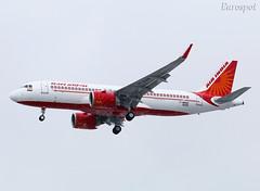 F-WWBX (@Eurospot) Tags: vtexm fwwbx airbus a320 neo toulouse blagnac airindia
