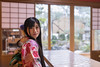 Young woman in kimono sitting in traditional Japanese tatami room (Apricot Cafe) Tags: img26505 asia asianandindianethnicities ishikawaprefecture japan japaneseethnicity japaneseculture kanazawa kimono obisash sigma35mmf14dghsmart skill architecture artscultureandentertainment charming cheerful citylife cultures day domesticroom enjoyment fashion foilmaterial freedom freshness garden goldleaf grace hairaccessory happiness indoors lifestyles longhair lookingatcamera lookingovershoulder oldfashioned oneperson onlywomen photography relaxation shoji sideview sitting smiling springtime straighthair table tatami tatamimat tourism tradition traditionalclothing tranquility travel traveldestinations waistup weekendactivities women workshop youngadult