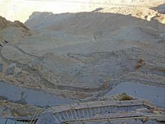 The Snake Path, Masada (JohntheFinn) Tags: masada israel zealot roman archaeology deadsea kuollutmeri middleeast history historia herod palace lähiitä landscape maisema outdoor hiking patikointi aavikko autiomaa erämaa desert wilderness judea