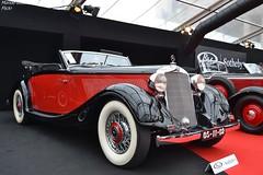 Mercedes 290 Cabriolet A 1937 (Monde-Auto Passion Photos) Tags: voiture vehicule auto automobile mercedes cabriolet convertible roadster spider ancienne classique red rouge classe luxe vauban vente enchère sothebys france paris