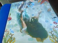 DSC00750 (classroomcamera) Tags: book cover blue lap mermaid ocean sea girl swim swimming coral life marine fish adventure