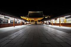 Sensō-ji Temple (fredMin) Tags: buddhism temple night beauty travel asia japan tokyo asakusa architecture fujifilm xt1 1024