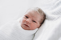 Only an hour old... (bella arte photography) Tags: hospital newbornphotography melbourne fresh new baby birth