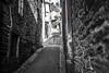 Les Venelles, Morlaix... (De l'autre côté du mirOir...) Tags: lesvenellesmorlaix morlaix bretagne breizh brittany fr france french nikon nikkor d810 nikond810 monochrome noiretblanc noirblanc nb blackwhite négroyblanco rue ville street urban tag