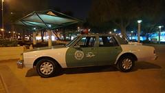 Vintage Police car - AD Police-  Murabbaa Festival Al Ain, UAE Feb 2018 (Patrissimo2017) Tags: fortconcert