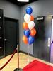 Club LED (PartiLife) Tags: sports centerpieces blue white orange barmitzvah batmitzvah collegesports sportstheme