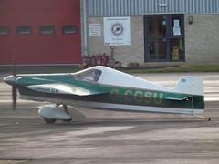 G-CGSU Cassutt Racer Private (Aircaft @ Gloucestershire Airport By James) Tags: gloucestershire airport gcgsu cassutt racer private egbj james lloyds