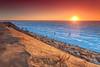 Winter Sunset at Thumpertown beach Eastham Cape Cod (Dapixara) Tags: thumpertown beach capecod massachusetts winter dapixara photography usa