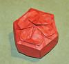 Dahlia tessellation box (mganans) Tags: origami tessellation box caja