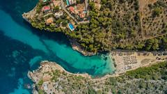 Most beautiful beach of Mallorca Cala Llombards