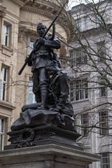 Manchester (thulobaba) Tags: manchester england uk war memorial statue sculpture boerwar southafrica britisharmy leemetford bayonet wounded soldiers