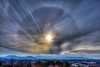 Frozen Sun Halo Roanoke Valley (Terry Aldhizer) Tags: winter sun halo roanoke valley blue ridge mountains city mill mountain sky dog clouds optics january terry aldhizer wwwterryaldhizercom
