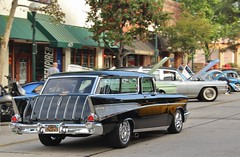 27th Annual Old Town Monrovia Car Show (USautos98) Tags: 1957 chevrolet chevy nomad wagon hotrod streetrod custom
