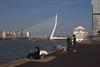 Erasmusbrug Rotterdam (chipje) Tags: river bridge erasmusbrug wilhelminapier rotterdam maas