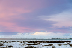 Sunrise in Iceland (George Pachantouris) Tags: iceland north arctic cold winter snow white ice frozen freeze þingvellir thingvellir nordics