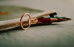 Fastener (*mirt) Tags: closeup macro pencilcase pencils zipper fastener macromondays