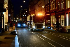 Amsterdam 2018 – Rail-cleaning vehicle (Michiel2005) Tags: utrechtsestraat railreinigingsvoertuig gvb rails amsterdam nederland netherlands holland