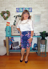New Skirt (Trixy Deans) Tags: crossdresser cd cute crossdressing crossdress classic skirts skirt hot heels highheels heelssexy sexy sexytransvestite sexylegs