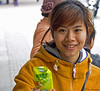Girl in Hanoi (Jom Manilat) Tags: girl hanoi vietnam studying traditional medicine university offering me ice cream