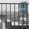 den Winter wegspülen (zeh.hah.es.) Tags: zurich zürich kreis5 switzerland schweiz primetower regen rain schnee snow fenster window gitter hochhaus skyscraper winter